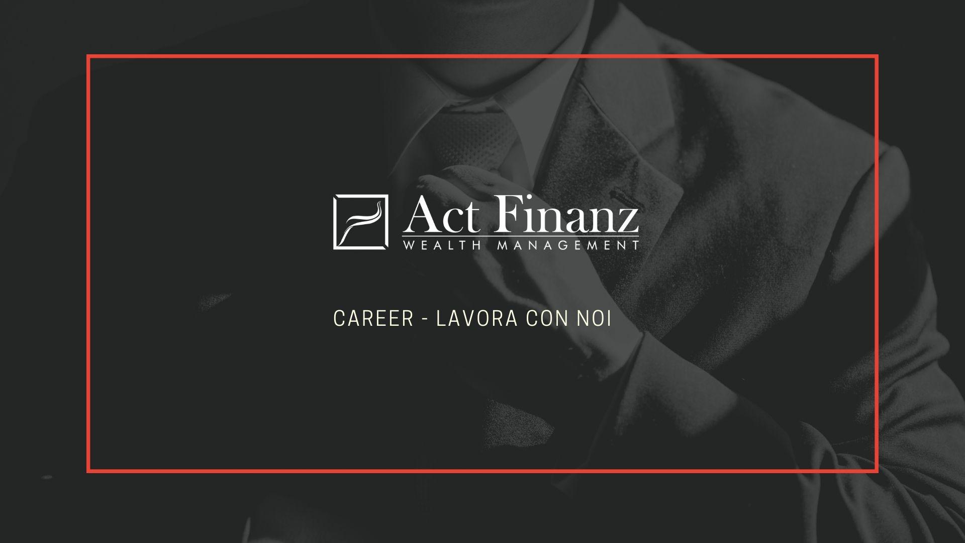 Act Finanz lavora con noi